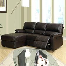 genuine leather sectional sleeper sofa 100 reclining couch modern living room