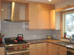 Kitchen Glass Subway Tile Backsplash Ideas Home Design and Decor