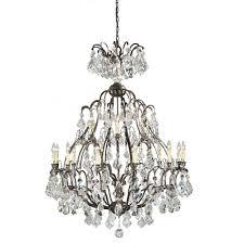 world imports timeless elegance collection 18 light bronze hanging chandelier