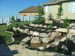 landscaping with rocks landscape pictures chris jensen rock wall ground cover and plants fcceccafb