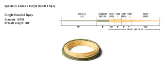 Rio Intouch Single Hand Spey Fly Fishing Line Avidmax
