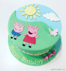 Peppa Pig Birthday Cake Tips For Girls Birthday Cake Decorations