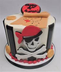 Pirate Themed Birthday Picture Of Flavor Cupcakery Bake Shop