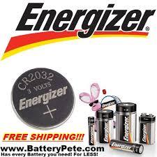 Key Fob Battery Energizer 1pk Cr2032