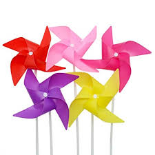 esowemsn 100 sets colorful plastic party pinwheels windmill diy pinwheels best for kids toy outdoor accessories