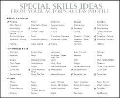 Sample Resume Skills List Resume Qualifications List List Of Skills