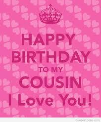Happy Birthday Cousin Quotes Gorgeous Happy Birthday Best Cousin Quotes Happy Birthday Cousin Quotes