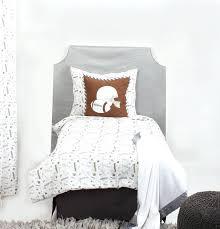 grey toddler bedding home toddler bedding boys toddler bedding football brown grey muslin 4 toddler bedding