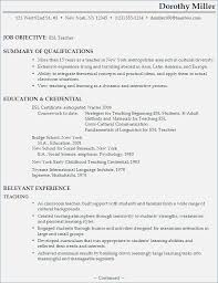 English Language Teacher Resume – Fluently.me