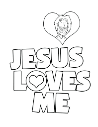 Jesus As A Child Coloring Pages Loves The Little Children Coloring