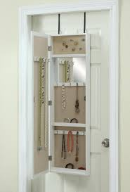 jewelry box armoire with mirror and white jewelry armoire