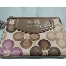 Coach Madison Clover Wristlet, Women s Fashion, Bags   Wallets on ...