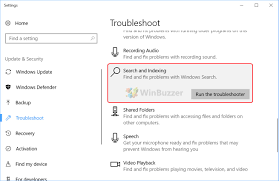 Windows 10 Search Not Working Here Is How To Fix It Winbuzzer