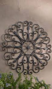 iron wall art. Inspired By The Ornamental Ironwork Of New Orleans\u0027 Garden District, Our Gracie Iron Wall Art Boasts Scrolled Details That Create Playful Negative