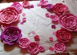 Paper Flower Wedding Decorations 2019 3d Big Size Wedding Decoration Wedding Decorative Tissue Party