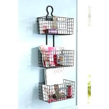 wall mounted storage baskets wall mount storage