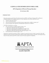 Physical Therapist Cover Letters Resume Template Physical Therapy