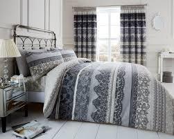 reverie dark grey bedding set