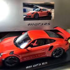 Porsche 911 GT3 RS Scale Model Leaked Again » AutoGuide.com News