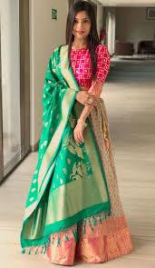 Banarasi Kurti Ke Design Designer Kurti Dress Design Jewelry Jewellery Necklace