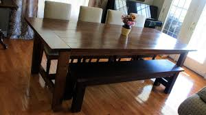 Dining Table Bench Seats Youtube