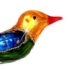 Sikora Bs324 Clip Vogel Mit Federschwanz Christbaumschmuck Glas Figur Weihnachtsbaum Anhänger