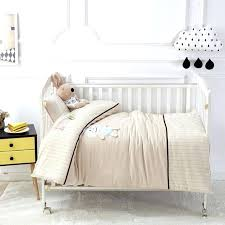 solid crib bedding sets solid color bear pattern 7 baby bedding set toddler crib bedclothes baby