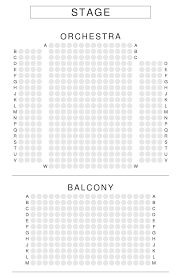 caa theatre seating plan