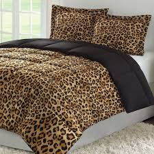 leopard print bedding sets animal set unique color pattern all within comforter plans 18