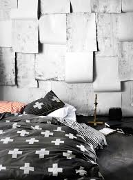 Small Picture Black White Bedding Aura Anchorage Cross Duvet at Simons