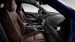 2018 jaguar f pace front interior seating