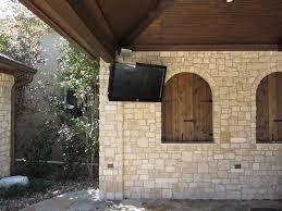 outdoor tv mounts outdoor waterproof tv wall mount in pool