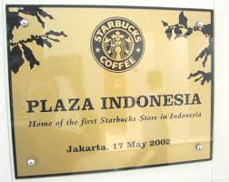 the surreal world of jakarta malls a photo essay jonathan stray starbucks plaque