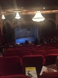 Broadway Theatre 53rd Street Section Rear Mezzanine L Row R