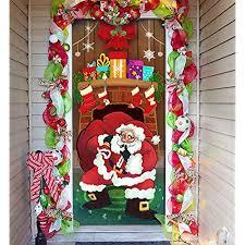 Image Office Cubicle Amazoncom Office Door Christmas Decorations Amazoncom