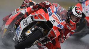 jorge lorenzo leads the motogp race at misano why did he fall while leading