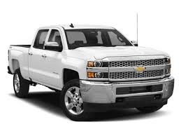 New 2019 Chevrolet Silverado 2500HD Work Truck Extended Cab Pickup ...
