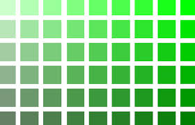 Different Shades Of Green Chart Awesome Shade Of Green Color Name Palette Hue Blog Pantone