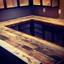 Wood Bar Top Columbus Barrel Co Custom Projects