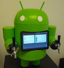 Android beer tap