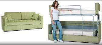 rv couch bunk bed. Modren Couch New Sofa Converts Into Bunk Beds In A Few Seconds  RV TravelThis Would  Be Awesome Homes Too In Rv Couch Bunk Bed