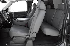 Leathercraft® GMC7515LG - Leather 1st Row Light Gray Seat Covers