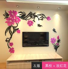 Small Picture Aliexpresscom Buy 3d Wall Stickers Home Decor Big Rose Tree