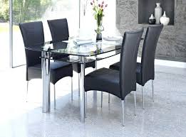 glass dining tables for 8 alluring rectangular glass dining table set high top dining room tables