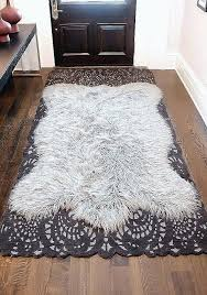 faux fur area rugs faux fur area rug for home decorating ideas awesome white fur area faux fur area rugs