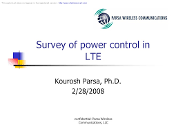 lte power control lte power control this watermark does not appear in the registered version