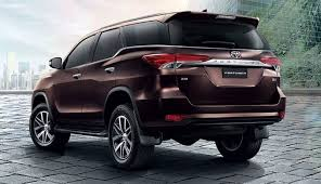2018 toyota exterior colors. interesting colors 2018 toyota fortuner rear view 1 810x466 for toyota exterior colors