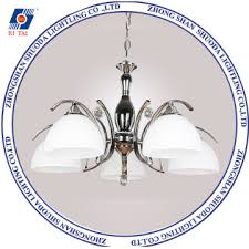 2017 newest design chandelier lamp with glass shade crystal with ce