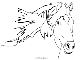 Cavallo Disegno Matita Colorata Migliori Pagine Da Colorare E