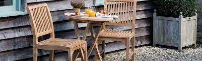 round folding teak table balcony